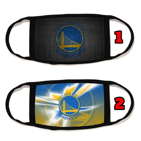 Golden State Warriors face mask face cover  rewash